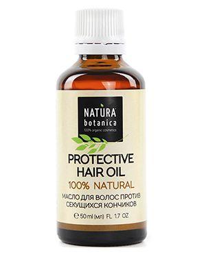 Масло для волос питательный Natura Botanica