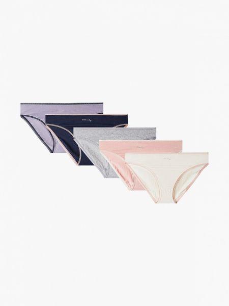 Трусы черные розовый Marks & Spencer