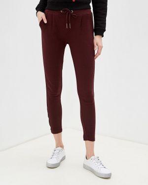Спортивные брюки бордовый красный Sublevel