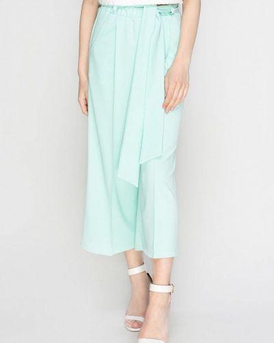 Свободные брюки расклешенные бирюзовый Zubrytskaya