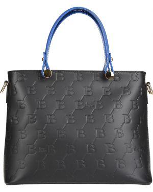 Кожаная сумка - черная Sara Burglar