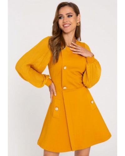 Платье - желтое Gold Chic Chili