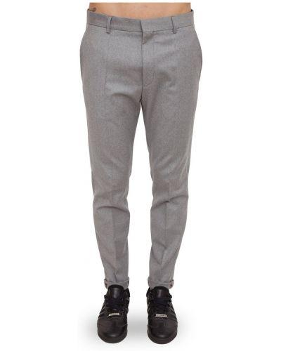 Szare spodnie Hugo Boss