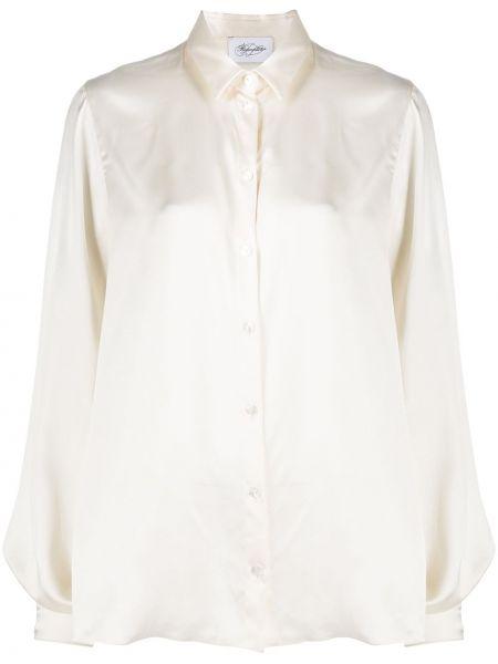 Прямая классическая блузка с воротником на пуговицах Redemption
