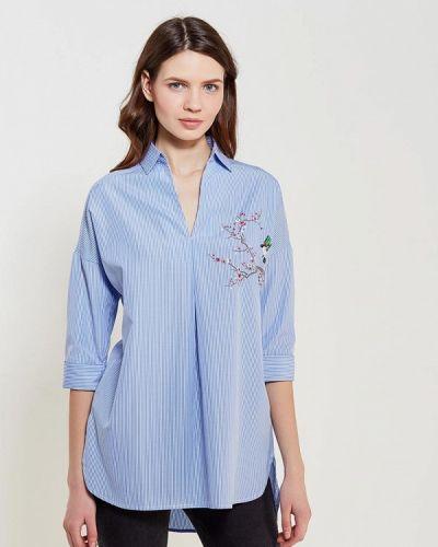 Голубая блузка Springfield