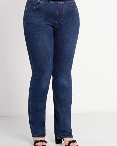 Прямые джинсы с завышенной талией Dora