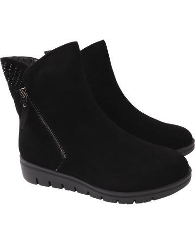 Черные ботинки Polann