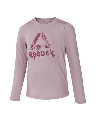 Różowa koszulka bawełniana Reebok