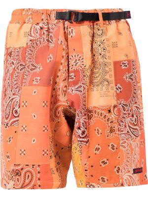 Pomarańczowe szorty bawełniane Readymade