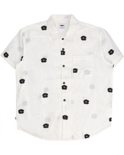 Biała koszula Obey