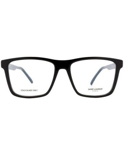Czarne okulary Saint Laurent