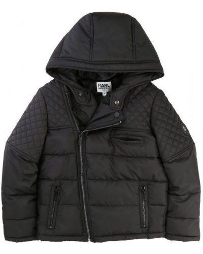 Текстильная брендовая куртка Karl Lagerfeld