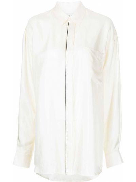 Шелковая рубашка - белая Equipment