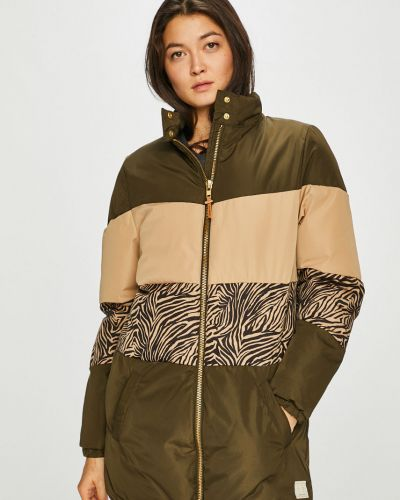 Стеганая куртка с карманами утепленная Femi Stories