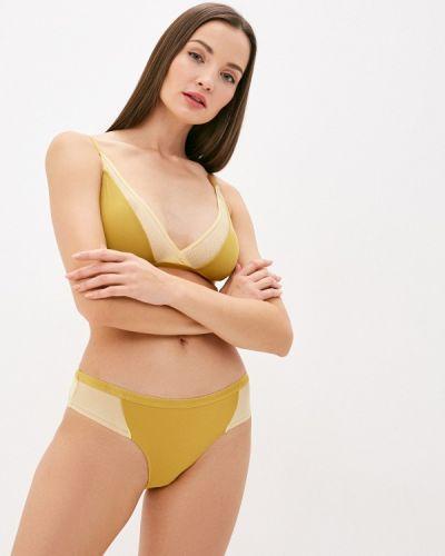 Желтый бюстгальтер без косточек Ichi