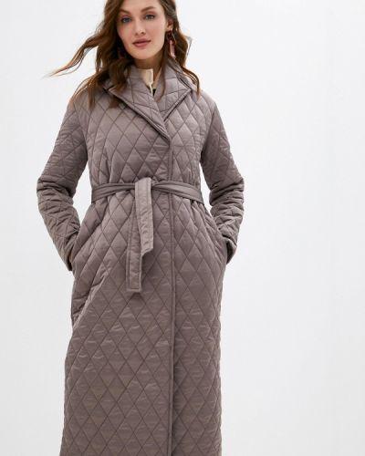 Коричневая утепленная куртка Imocean