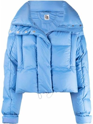 Длинная куртка - синяя Bacon