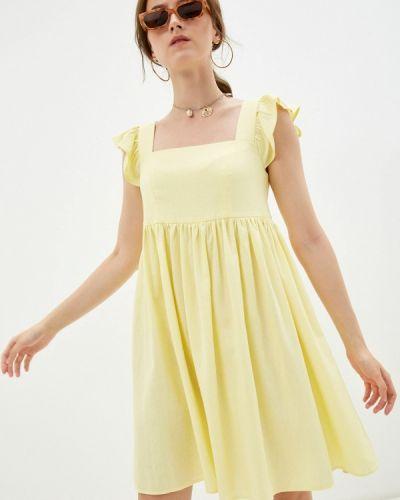 Желтое платье летнее M,a,k You Are Beautiful