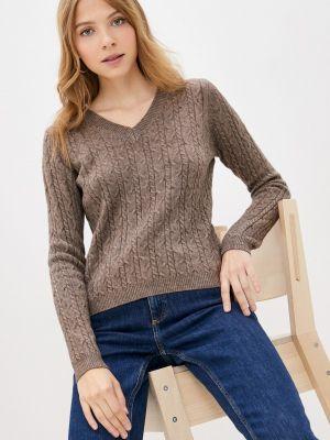Коричневый пуловер Goldrai