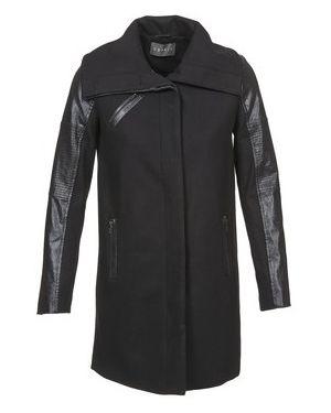 Czarny płaszcz przeciwdeszczowy Esprit