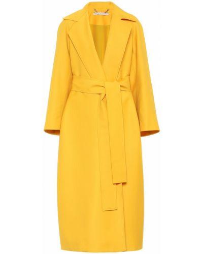 Желтое шерстяное пальто Emilia Wickstead