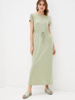 Зеленое платье Only