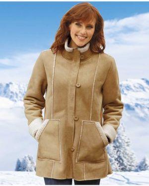 Утепленная куртка на пуговицах замшевая Atlas For Men