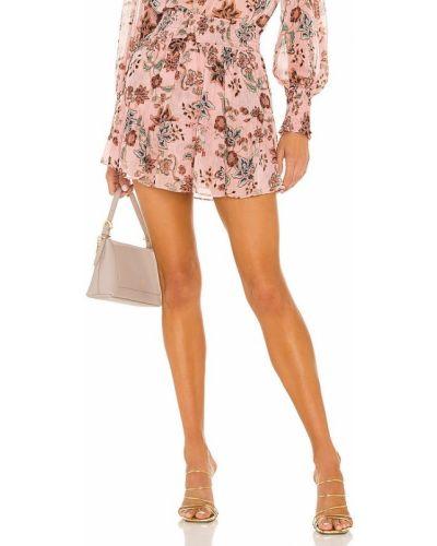 Шифоновая юбка - золотая Misa Los Angeles