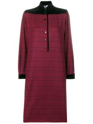 Платье винтажное с воротником Emanuel Ungaro Pre-owned