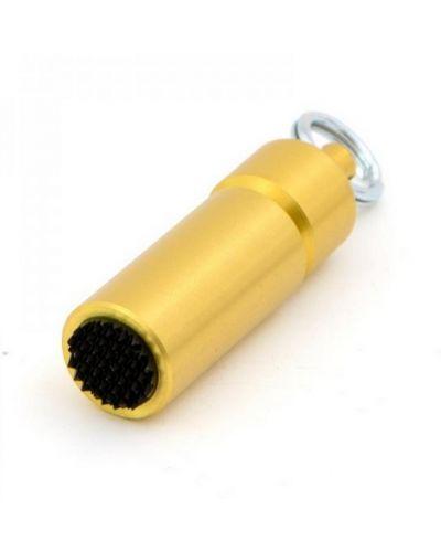Брелок желтый золотой Nobrand