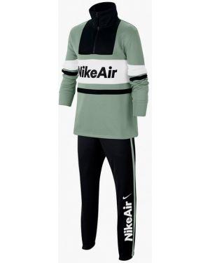 Спортивный костюм зеленый черный Nike