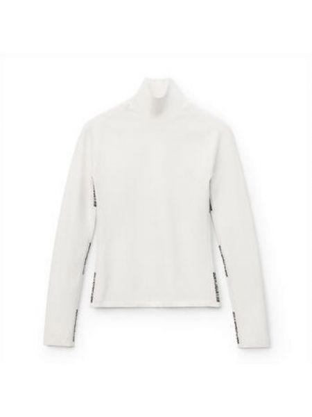 Biały sweter Alexander Wang
