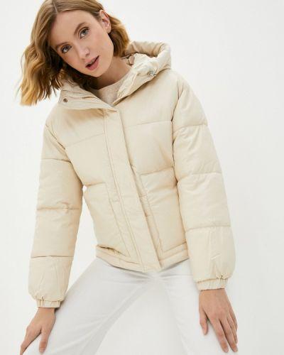 Бежевая хлопковая куртка Fresh Cotton