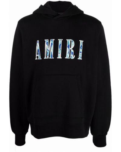 Худи длинное - черное Amiri