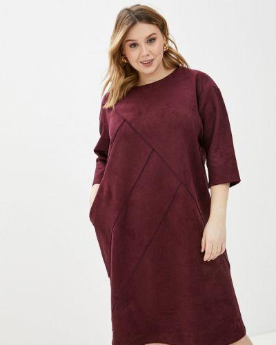 Повседневное красное платье Prewoman