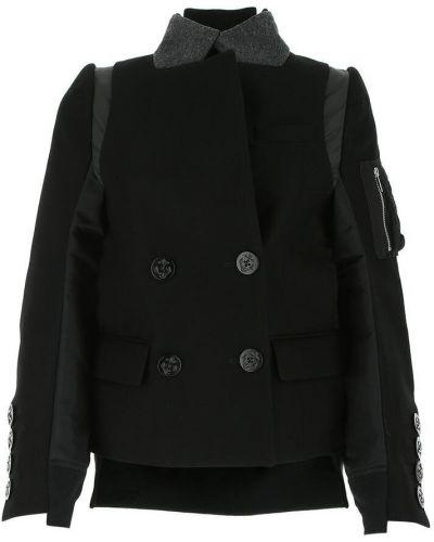 Czarna kurtka Sacai