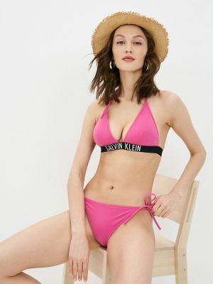 Розовый купальник с завязками Calvin Klein Underwear