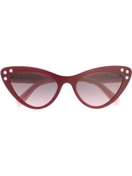 Муслиновые солнцезащитные очки Miu Miu Eyewear