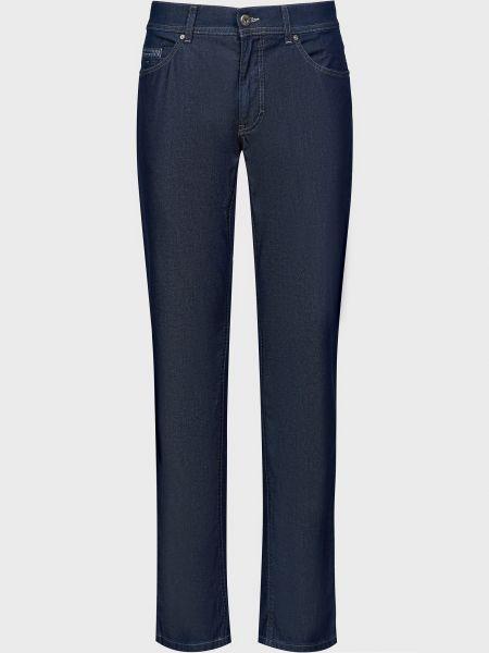 Хлопковые джинсы - синие Brax