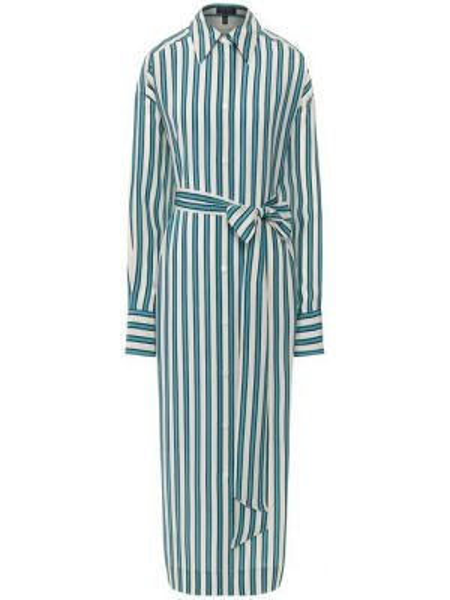 Шелковое платье - зеленое Escada