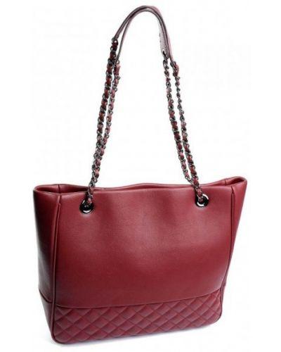 Кожаная сумка - красная Parse
