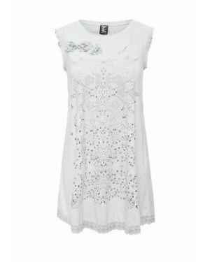 Повседневное серое платье Tricot Chic