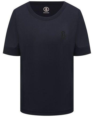 Синяя футболка Bogner