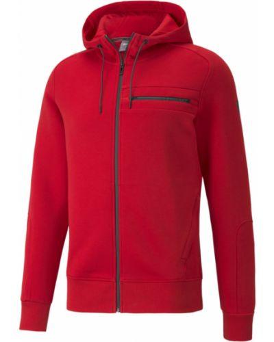 Куртка с капюшоном - красная Puma