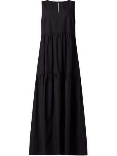 Sukienka rozkloszowana - czarna Set