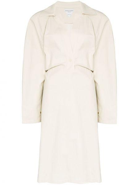 Платье макси платье-пиджак с поясом Bottega Veneta