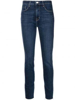 Джинсовые зауженные джинсы - синие L'agence