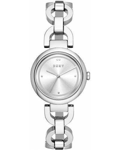 Водонепроницаемые часы с круглым циферблатом универсальный Dkny