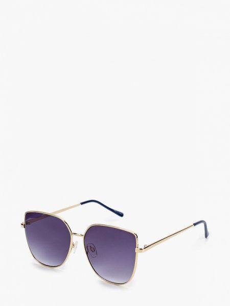 Солнцезащитные очки авиаторы золотой Mango