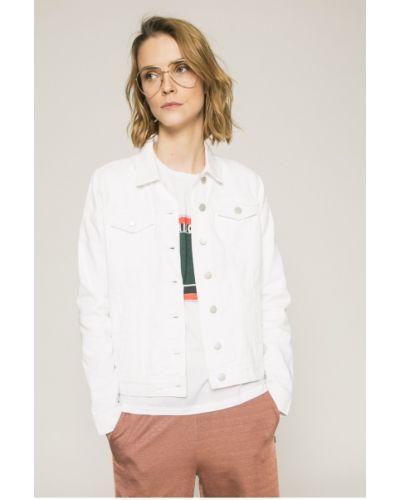 Джинсовая куртка на пуговицах облегченная Vila